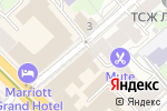 Схема проезда до компании Best Design в Москве