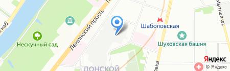 Атлантик Гарант на карте Москвы