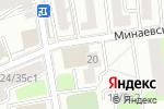 Схема проезда до компании КБ Рубанк в Москве