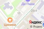 Схема проезда до компании White Story в Москве