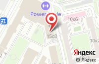 Схема проезда до компании Электонрегионсервис в Москве