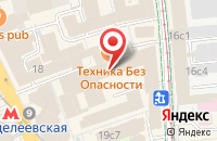 Схема проезда до компании Русь-Принт в Москве