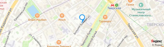 Большая Бронная улица