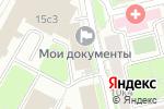 Схема проезда до компании Донской в Москве