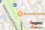 Схема проезда до компании Капучино в Москве