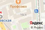 Схема проезда до компании Бизнесюрконсалт в Москве