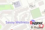 Схема проезда до компании ЮРолимп в Москве
