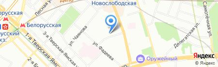 ЮРолимп на карте Москвы