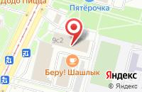Схема проезда до компании Меда в Москве