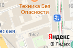 Схема проезда до компании ESN-STUDIO в Москве