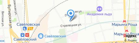 TSYS на карте Москвы