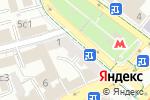 Схема проезда до компании ABA школа тренинга в Москве