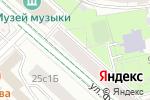Схема проезда до компании ГУТА-КЛИНИК в Москве