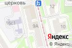 Схема проезда до компании ПрофиМассаж в Москве