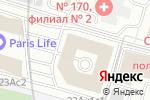 Схема проезда до компании Архитектурное наследие в Москве