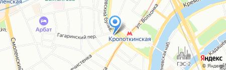 366 на карте Москвы