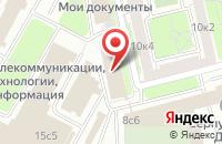 Схема проезда до компании Группа Р-Медиа в Москве