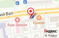 Схема проезда до компании Инжремонтсервис в Москве