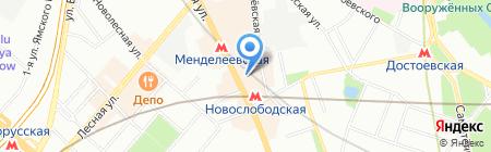 Контент Груп на карте Москвы