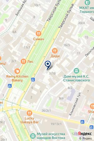 РЕДАКЦИЯ ЖУРНАЛА ЭХО ПЛАНЕТЫ на карте Москвы