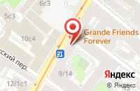 Схема проезда до компании Краснов Медиа в Москве