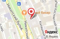 Схема проезда до компании Л` Ета Проджект в Москве