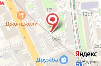 Схема проезда до компании Арсинтегра: Центр Рекламных Коммуникаций в Москве