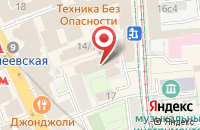 Схема проезда до компании Салон-Аида в Москве
