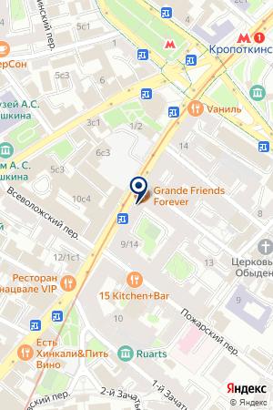 SET GMBH на карте Москвы