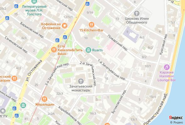 купить квартиру в ЖК Зачатьевский 19-21