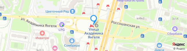 метро Улица Академика Янгеля