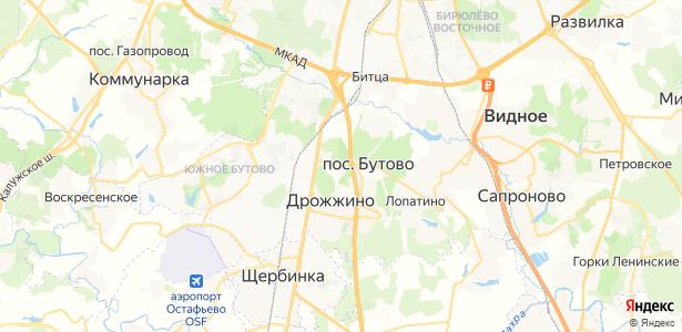Леспаркхоз на карте