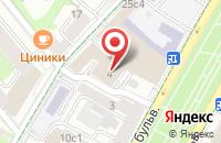 Схема проезда до компании Мебельоптторг в Москве
