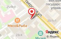 Схема проезда до компании Телекомпания  в Москве