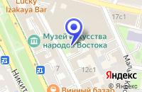 Схема проезда до компании КИНОВИДЕОКОМПАНИЯ СОВЭКСПОРТФИЛЬМ ВК в Москве