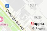 Схема проезда до компании Center-Kt в Москве