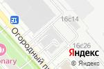 Схема проезда до компании AsiaParts в Москве