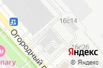 Схема проезда до компании Золотой Плавник в Москве