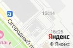 Схема проезда до компании Hightech в Москве