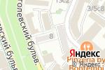Схема проезда до компании Cтарина в Москве