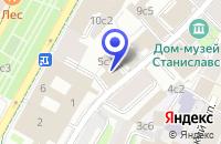 Схема проезда до компании КОНСАЛТИНГОВАЯ КОМПАНИЯ РОСБЫТСОЮЗ-ИНВЕСТ в Москве