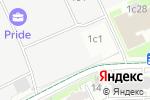 Схема проезда до компании ГлобалИТ в Москве
