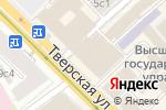 Схема проезда до компании Шансон в Москве