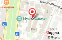 Схема проезда до компании 64-Ш.О. в Москве
