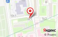 Схема проезда до компании Книгоман в Москве