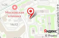 Схема проезда до компании Поли-Граф в Москве