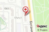 Схема проезда до компании Ист-Авто в Москве