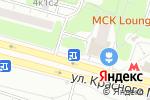 Схема проезда до компании Магазин женского нижнего белья на ул. Красного Маяка в Москве