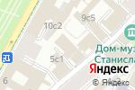 Схема проезда до компании Березка в Москве