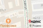 Схема проезда до компании ЭФИ в Москве